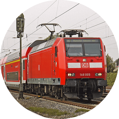 Bahn Haltern am See
