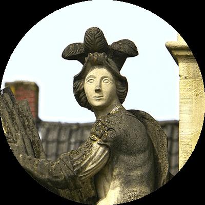 Schloss Lembeck Figur